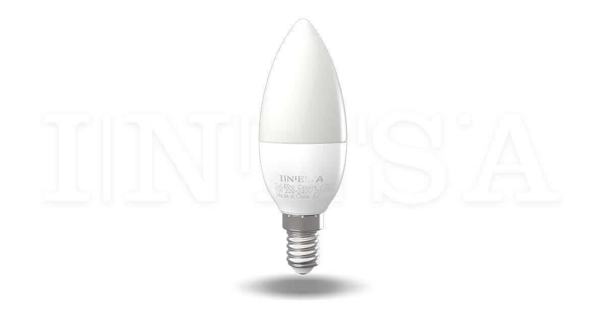 A LED izzó E14 típusa kiváló a háztartásokba