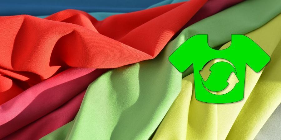 Az újrahasznosított poliészter anyag remek fürdőruhának